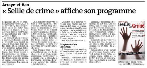 Article Est Republicain du 03/10/2015