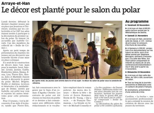 Article Est Republicain du 02/11/2015